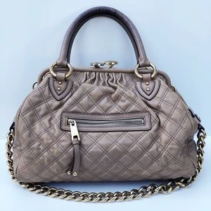 Marc Jacobs Quilted Gold Chain Bag